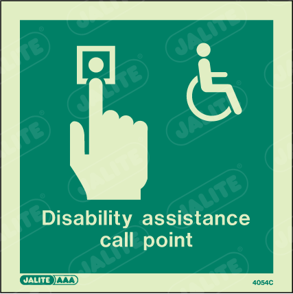 4054C-Jalite Disability Assistance Call Point