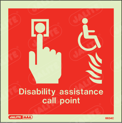 6634C-Jalite Disability Assistance Call Point