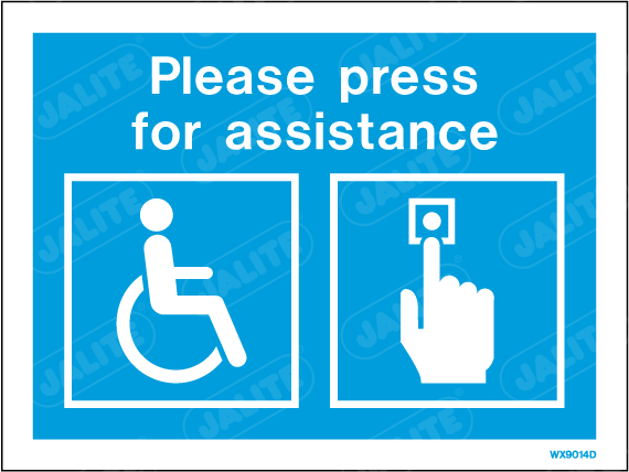 WX9014D-Jalite Disability press for Assistance